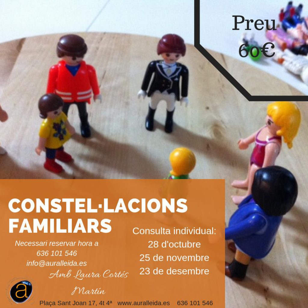 Constel·lacions familiars a Lleida